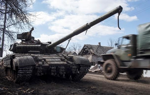Наблюдатели ОБСЕ обнаружили военную технику под Широкино