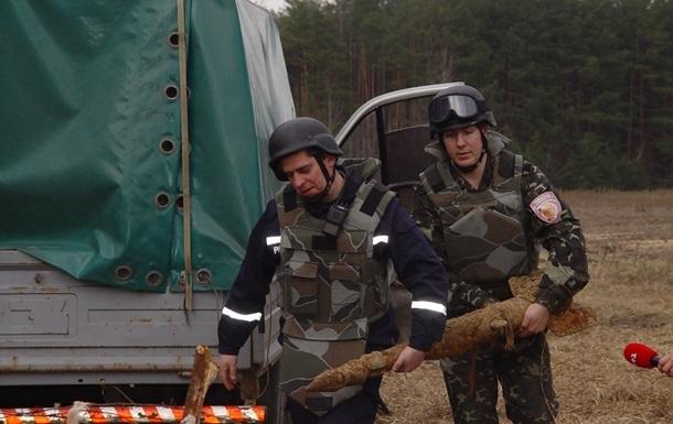 За девять месяцев на Донбассе обезврежено 34 тысячи взрывоопасных предметов