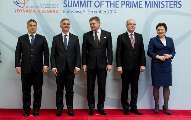 Вышеградская четверка  за предоставление массивной финпомощи Украине