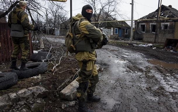 На Донбассе стреляют из запрещенного оружия. Карта АТО