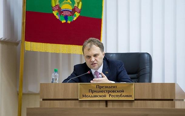 Лидер Приднестровья призвал Киев не нагнетать обстановку