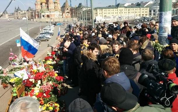 В Москве проходит акция  Минута НЕмолчания