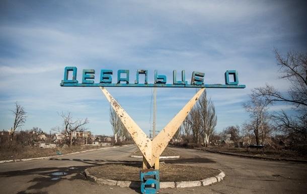 Ад в Дебальцево. Опубликовано видео непрерывного обстрела города