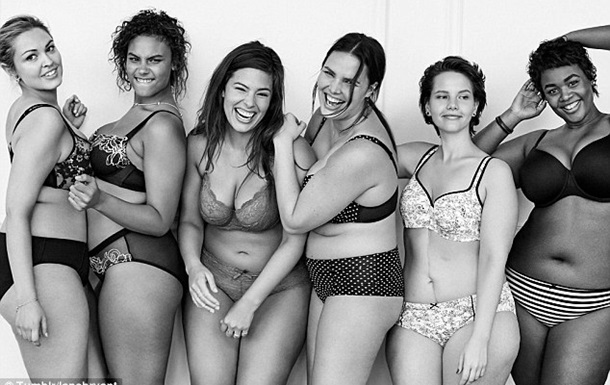 Модели plus size снялись в рекламе,  альтернативной  Victoria`s Secret