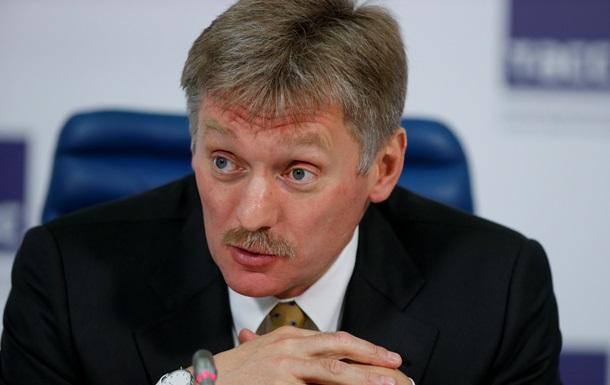 В Кремле обвинили Киев в невыполнении минских соглашений