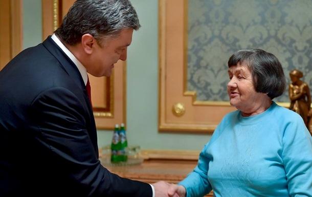 Порошенко встретился с матерью Надежды Савченко