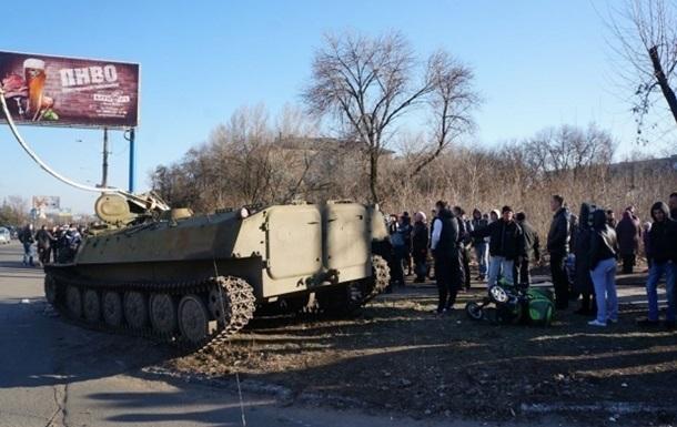 За беспорядки в Константиновке задержаны семь человек