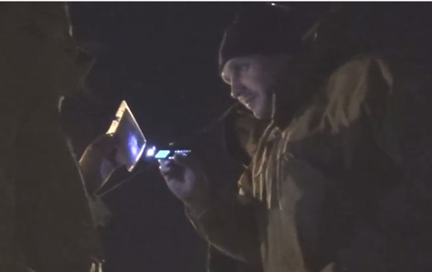 Представитель  Печерской самообороны : Ствол достану вместо моих документов