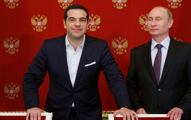 Ципрас и Путин призвали прекратить  санкционную войну