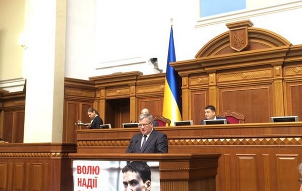 Евросоюз и НАТО признают границы Украины от 1991 года – Коморовский