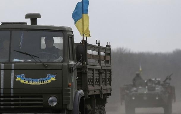 В Луганской области подорвали автомобиль пограничников