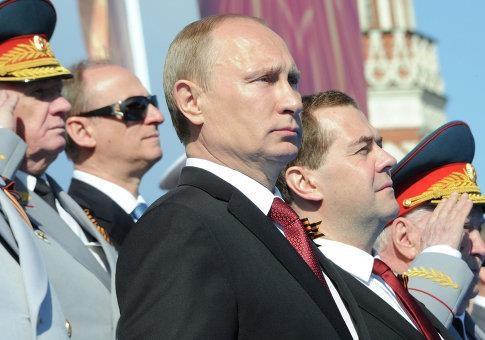 Парад Победы в Москве - ярмарка тщеславия
