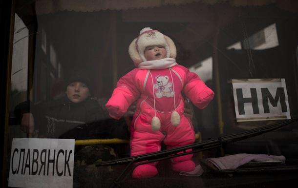 Убежища за границей из-за АТО попросили 314 000 украинцев