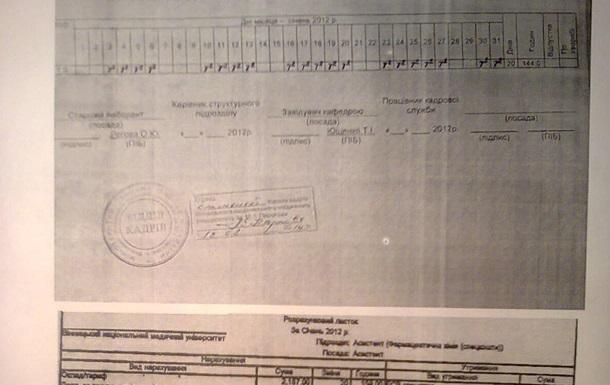 Прокурори визнали амбідекстрією злочинні діяння доцента Вінницького медуніверу