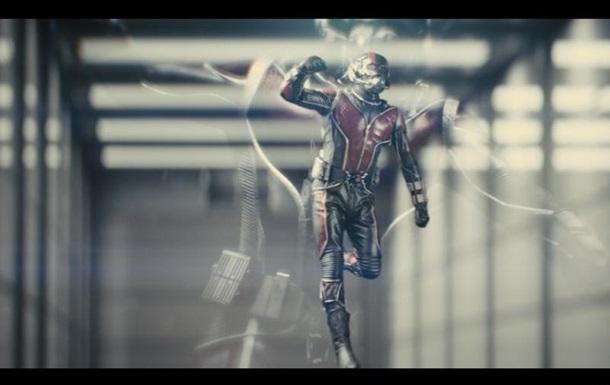 Человек-муравей : появился официальный трейлер
