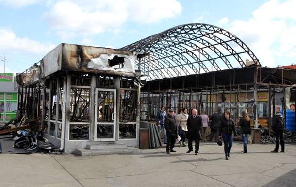 В Киеве после крупного пожара закрыт вход в метро Позняки