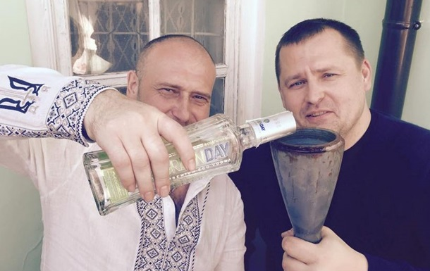 Нардеп Филатов выложил видео застолья с Ярошем