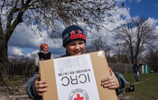 Красный крест запросил еще $34 миллиона для помощи Украине