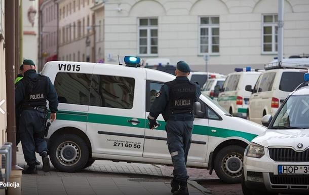 В центре Вильнюса задержан угрожавший взорвать себя мужчина