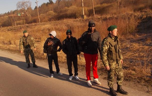На Львовщине задержаны африканцы, представляющиеся беженцами с Донбасса