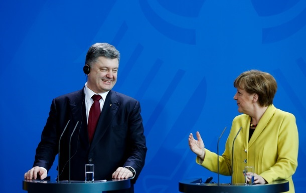 Порошенко написал статью о Меркель для американского Time
