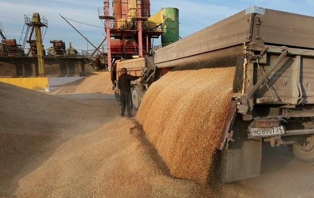 Запасы зерна в Украине выросли на 33%