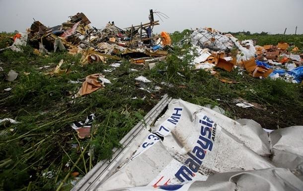 На месте крушения Боинга на Донбассе найдены новые останки