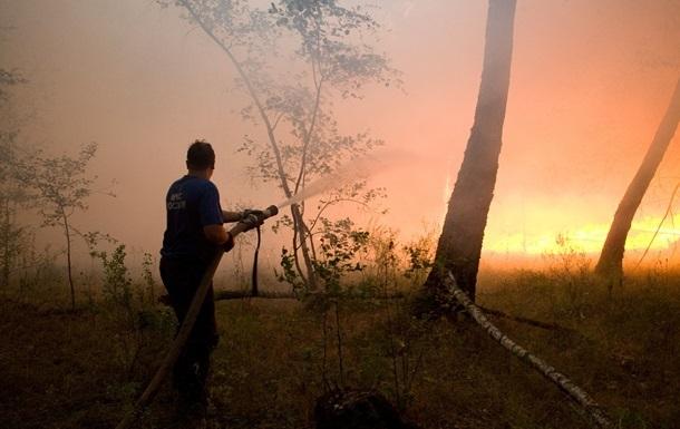 Лесные пожары в Сибири: огнем охвачено почти 120 тысяч гектаров