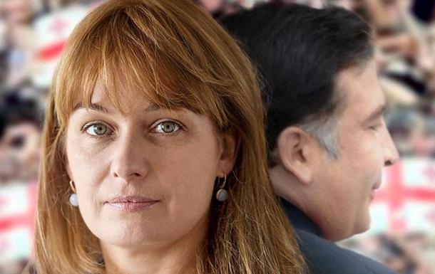 Быть с президентом. В Киеве покажут фильм о жене Саакашвили