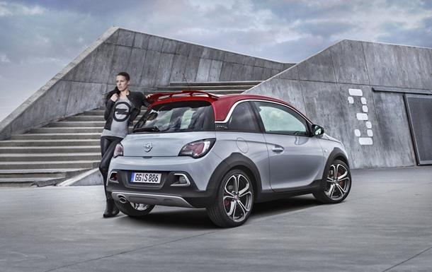 Opel представил маленький кроссовер Adam Rocks S