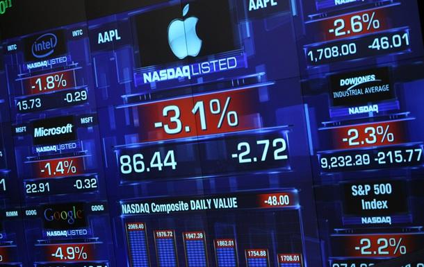 Торги на биржах США закрылись снижением котировок