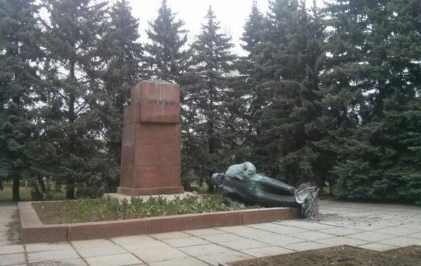 Харьковская милиция завела дело по сносу памятников Ленину