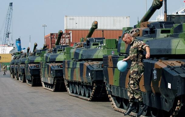 Франция направляет в Польшу 300 солдат и 15 танков