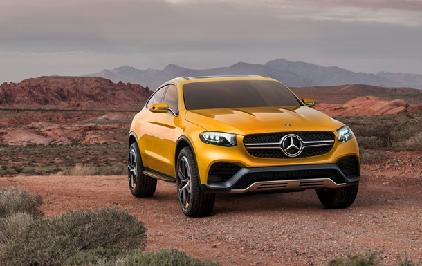 Mercedes показал будущего конкурента BMW X4