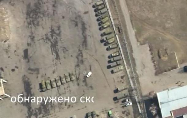 Аэроразведка сняла танки вблизи Мариуполя