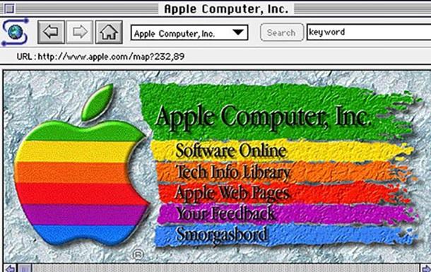 Самая первая веб-страница Apple появилась в Сети