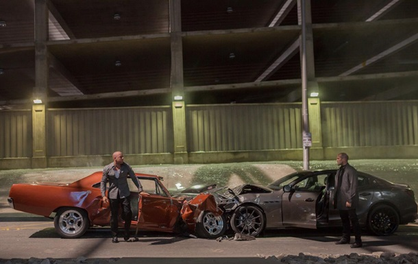 Все аварии из шести частей Форсажа объединили в одно видео