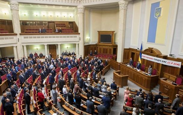 Депутаты продолжили работу Рады без Оппозиционного блока