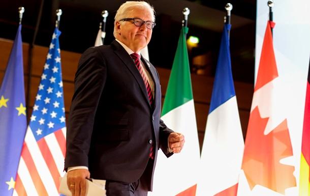 Штайнмайер попросил ЕС умерить беспокойство России по ЗСТ с Украиной
