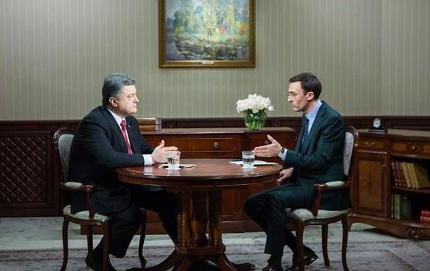 Порошенко прокомментировал митинги шахтеров в Киеве