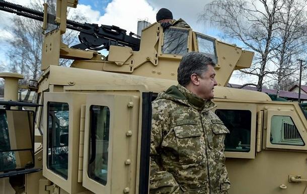 Украина введет военное положение при наступлении противника – Порошенко