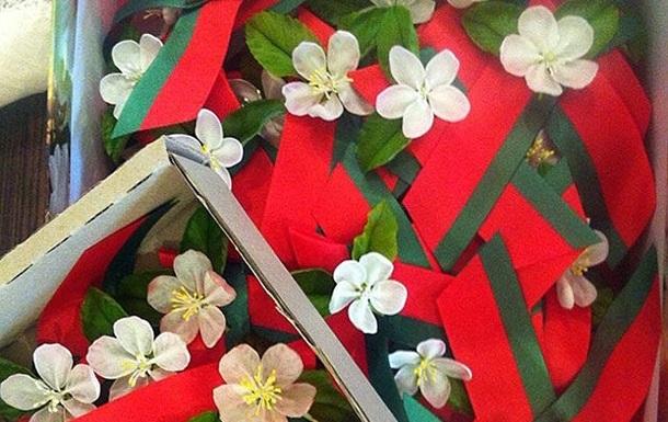 В Беларуси георгиевскую ленточку заменили на красно-зеленую