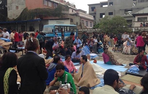 ВОЗ доставила в Непал лекарства для 40 тысяч человек