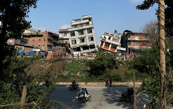 В Непале произошло очередное землетрясение
