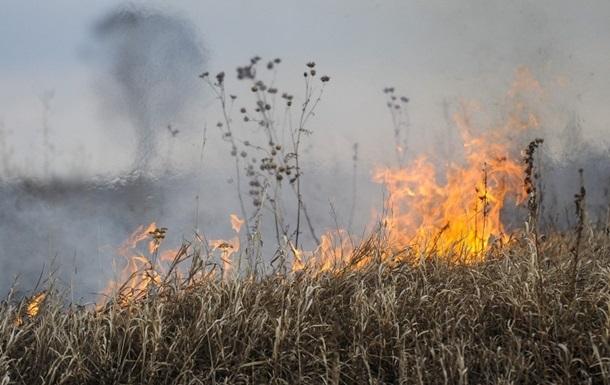 Синоптики предупреждают о пожарах в Киевской области на майские праздники