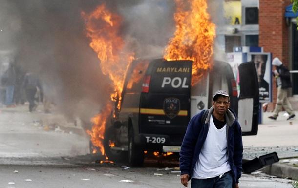 В охваченном беспорядками Балтиморе вводят комендантский час