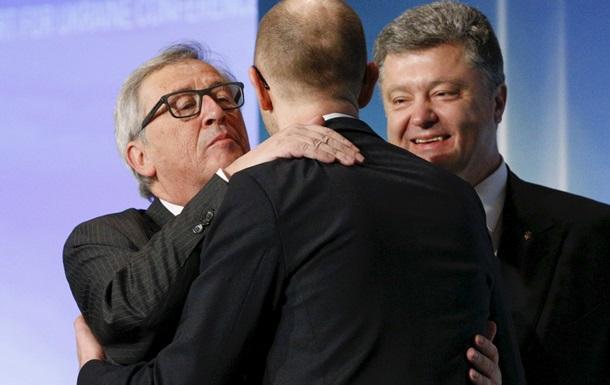 Без денег, перспектив членства и отмены виз. Итоги саммита Украина - ЕС