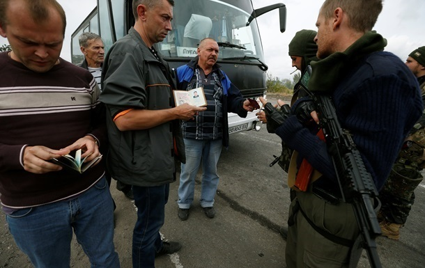 В Луганскую область перестанут пускать автобусы и грузовики