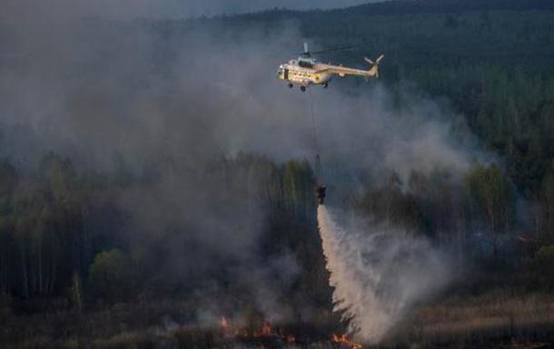 В Greenpeace назвали пожар возле Чернобыля катастрофическим