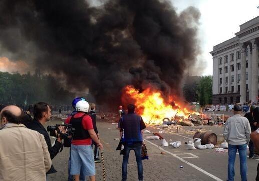 Футбол, пожар и сепаратизм или «Хатынь» в Одессе